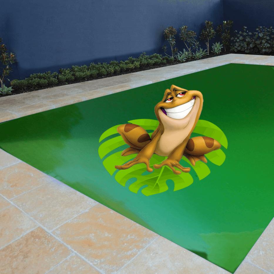 N o deixe ele morar em sua piscina livre se da gua verde - Agua de piscina verde ...