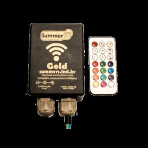 Controladora Gold para refletores de piscina RGB